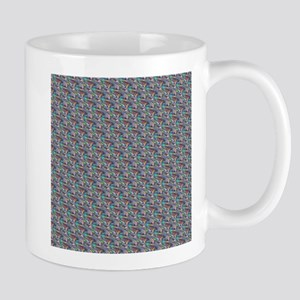 silver metallic Mugs