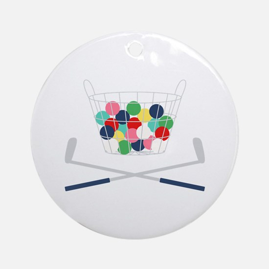 Miniature Golf Round Ornament