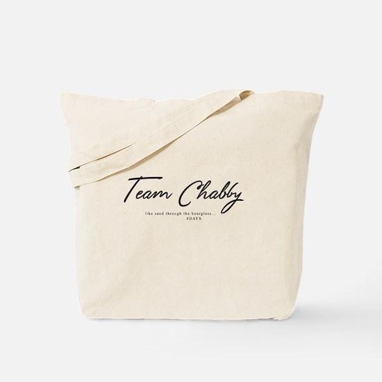 Team Chabby - DAYS Tote Bag