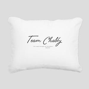 Team Chabby - DAYS Rectangular Canvas Pillow