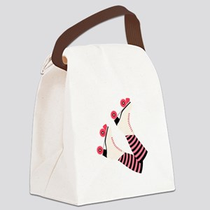 Roller Derby Skates Canvas Lunch Bag