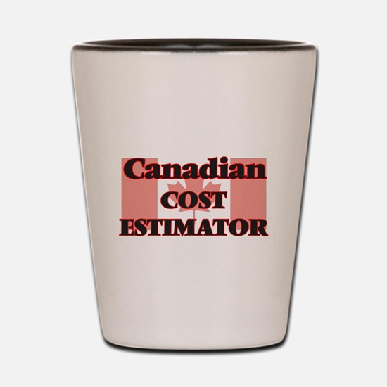 Canadian Cost Estimator Shot Glass