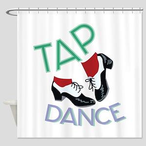 Tap Dance Shower Curtain