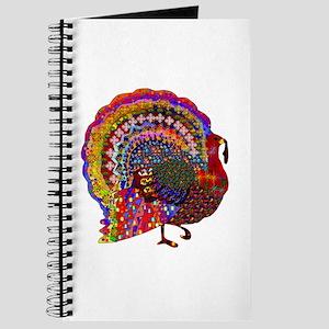 Dazzling Artistic Thanksgiving Turkey Journal