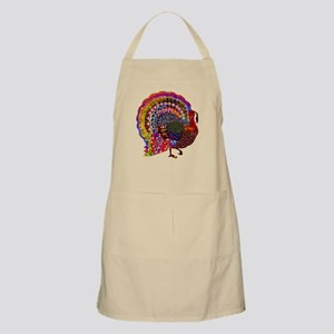 Dazzling Artistic Thanksgiving Turkey Apron