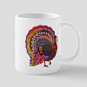 Dazzling Artistic Thanksgiving Turkey Mugs