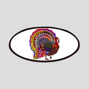 Dazzling Artistic Thanksgiving Turkey Patch