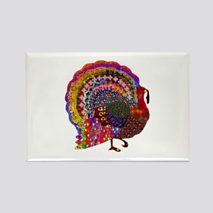 Dazzling Artistic Thanksgiving Turkey Magnets