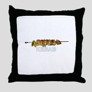 Kebab Throw Pillow