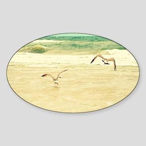 Karate Pose Sticker (Oval)