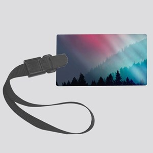 Mountain Light Large Luggage Tag