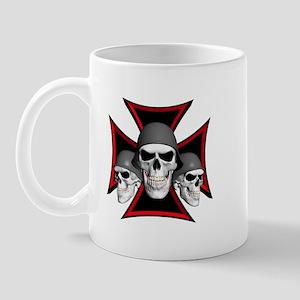 Skulls Iron Cross Mug