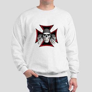 Skulls Iron Cross Sweatshirt