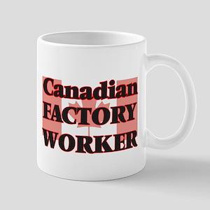 Canadian Factory Worker Mugs