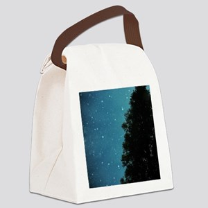 Star Light, Star Bright Canvas Lunch Bag