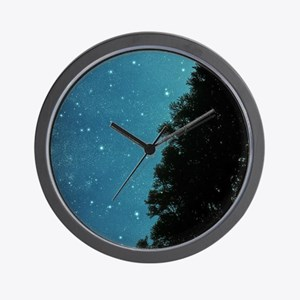 Star Light, Star Bright Wall Clock