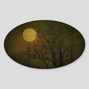 Starry Night Sticker (Oval)