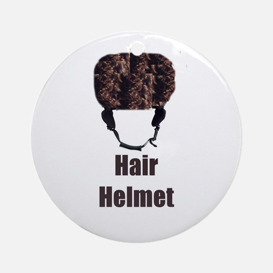 Hair Helmet Ornament (Round)