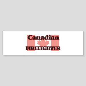 Canadian Firefighter Bumper Sticker