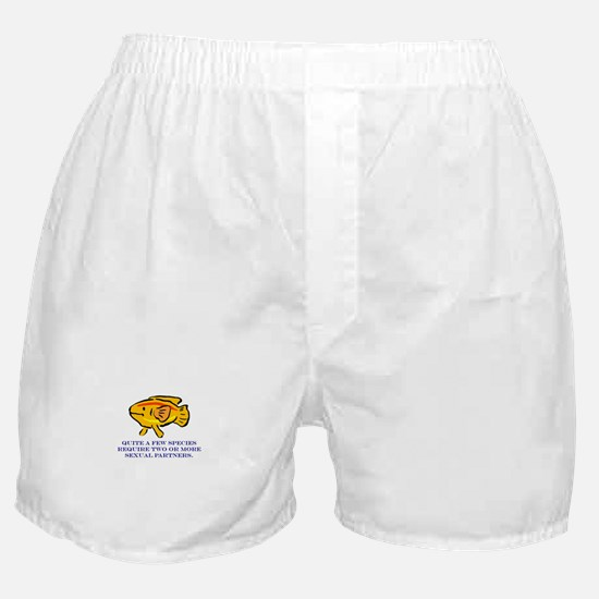 Some Species Require 2 or Mor Boxer Shorts