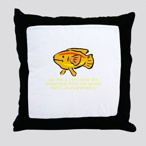 Some Species Require 2 or Mor Throw Pillow