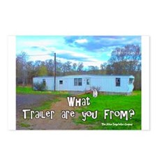 What Trailer Are You From? Postcards (Package of 8