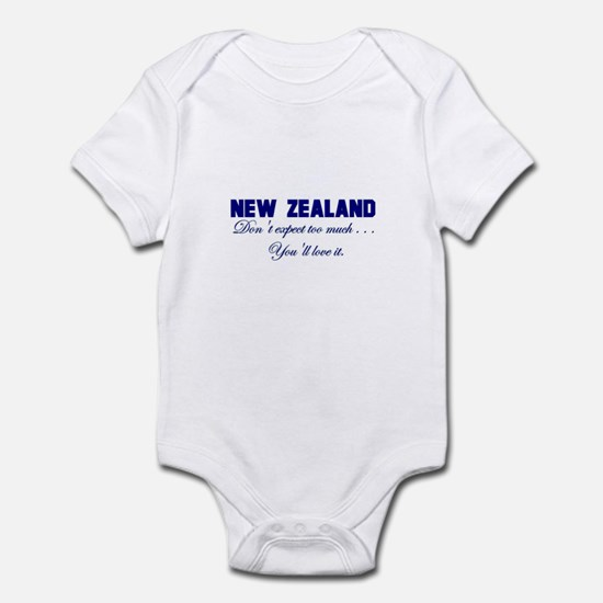 New Zealand . . . Don;t Expec Infant Bodysuit
