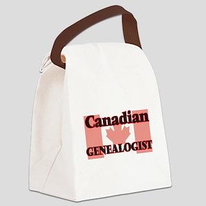 Canadian Genealogist Canvas Lunch Bag