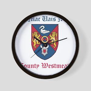 Ui Mac Uais Mide - County Westmeath Wall Clock
