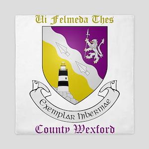 Ui Felmeda Thes - County Wexford Queen Duvet