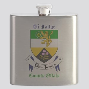 Ui Failge - County Offaly Flask