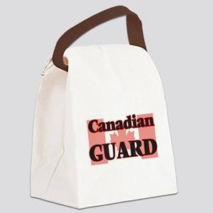 Canadian Guard Canvas Lunch Bag