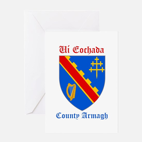 Ui Eochada - County Armagh Greeting Cards