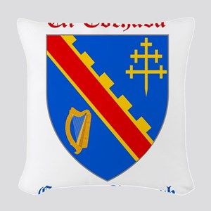 Ui Eochada - County Armagh Woven Throw Pillow