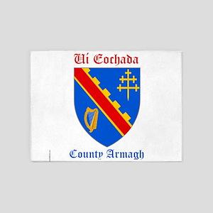Ui Eochada - County Armagh 5'x7'Area Rug