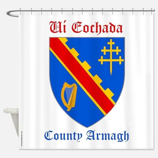 Ui Eochada - County Armagh Shower Curtain