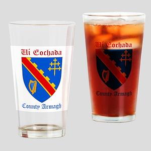 Ui Eochada - County Armagh Drinking Glass