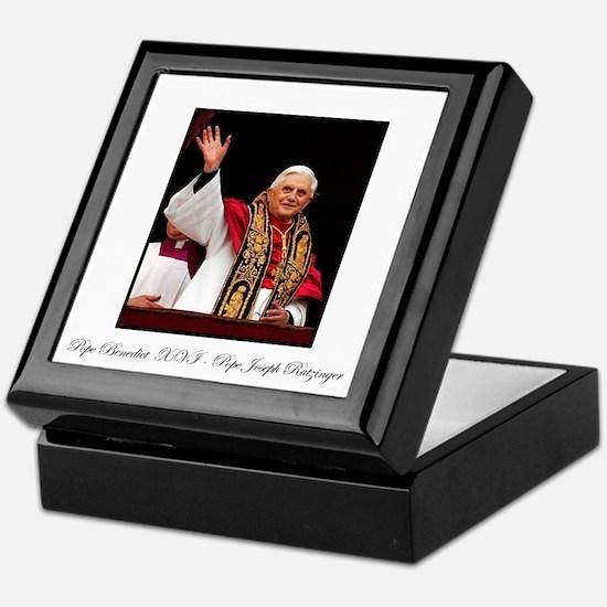 Pope Benedict XVI - Joseph Ra Keepsake Box