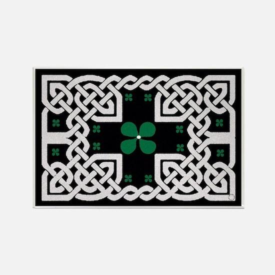 Funny Celtic design Rectangle Magnet