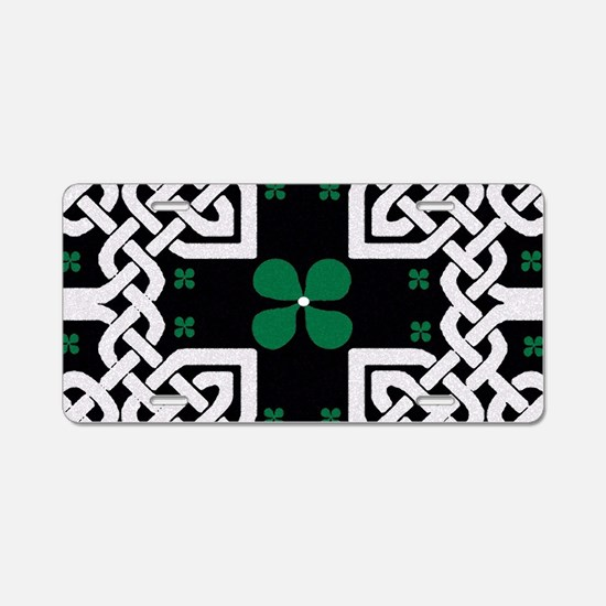 Cute First st. patrick%27s day Aluminum License Plate