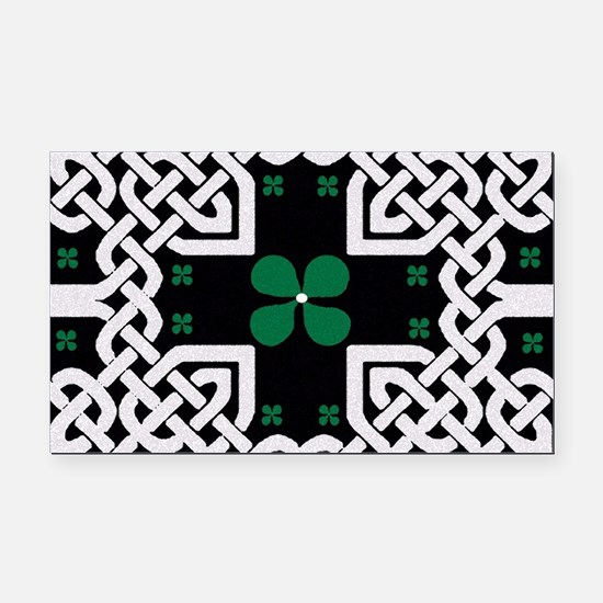 Cute St. patrick%27s day Rectangle Car Magnet