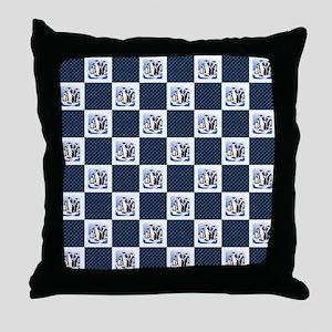 PENGUIN PLAID Throw Pillow
