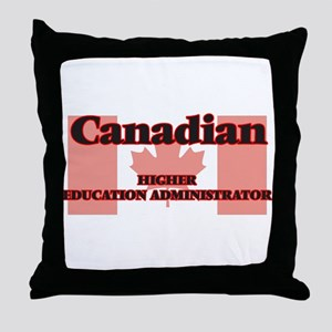 Canadian Higher Education Administrat Throw Pillow