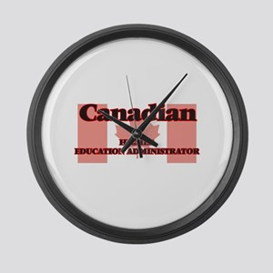 Canadian Higher Education Adminis Large Wall Clock