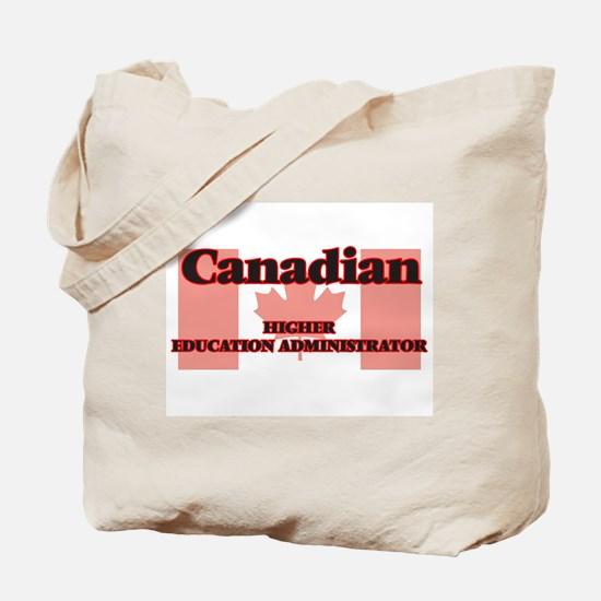 Canadian Higher Education Administrator Tote Bag