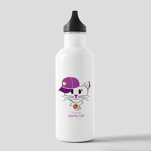 Sporty Cat Water Bottle