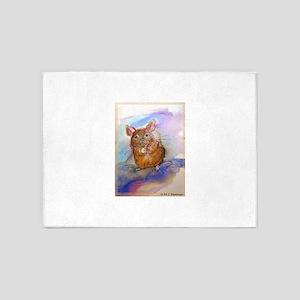 Mouse! Animal art! 5'x7'Area Rug