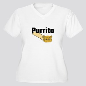 Purrito Plus Size T-Shirt