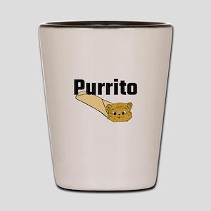 Purrito Shot Glass