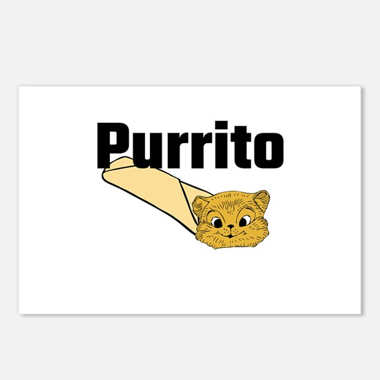 Purrito Postcards (Package of 8)